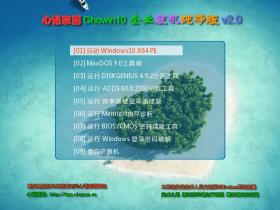 全网唯一支持UEFI NVME 心语家园 GhostWIN10 X64 企业装机纯净版 V2.1