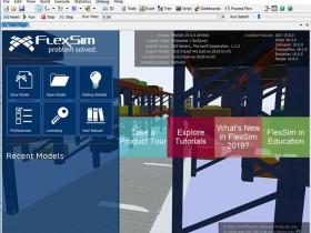 物流仿真软件FlexSim 2019 v19.0 官方英文注册版