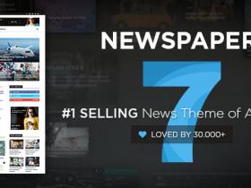 Newspaper v10.3.6.1 最火的WordPress新闻主题上百种组合,万能建站主题