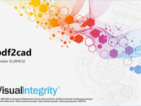独家汉化 pdf2cad v12 (pdf转dwg/dxf工具) v12.2019.12.0汉化注册版
