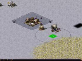 单机游戏 红色警戒2 尤里的复仇 尤里1对5 冷酷模式