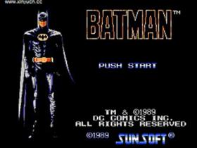 童年游戏 FC 蝙蝠侠1 一命通关视频(含金手指代码 )